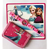 Frozen, Harika Kanatlar, Minnie, Cars ve Toy Story Saat-Cüzdan (MC Quenn Cars)