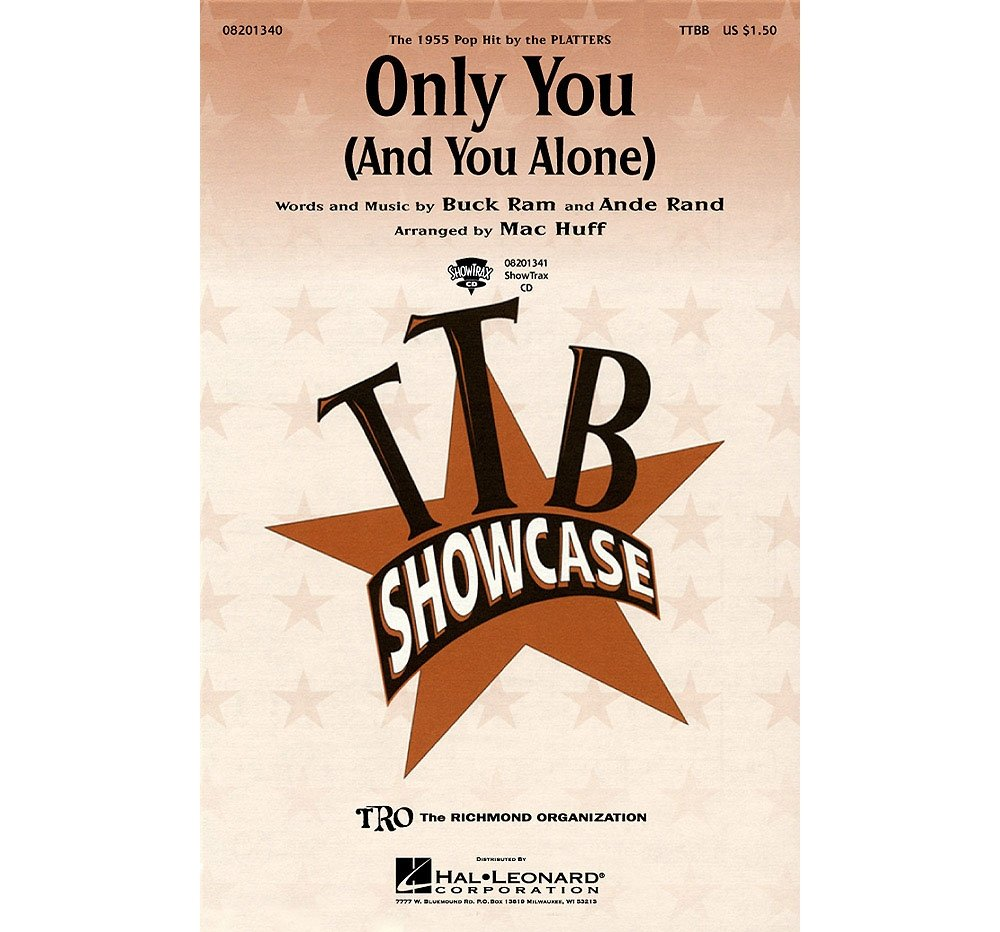 Download Hal Leonard Only You (And You Alone) TTBB by The Platters arranged by Mac Huff ebook