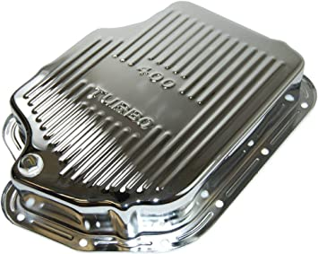 Chrome Racer Performance Chevy//GM Turbo TH-400 Steel Transmission Pan