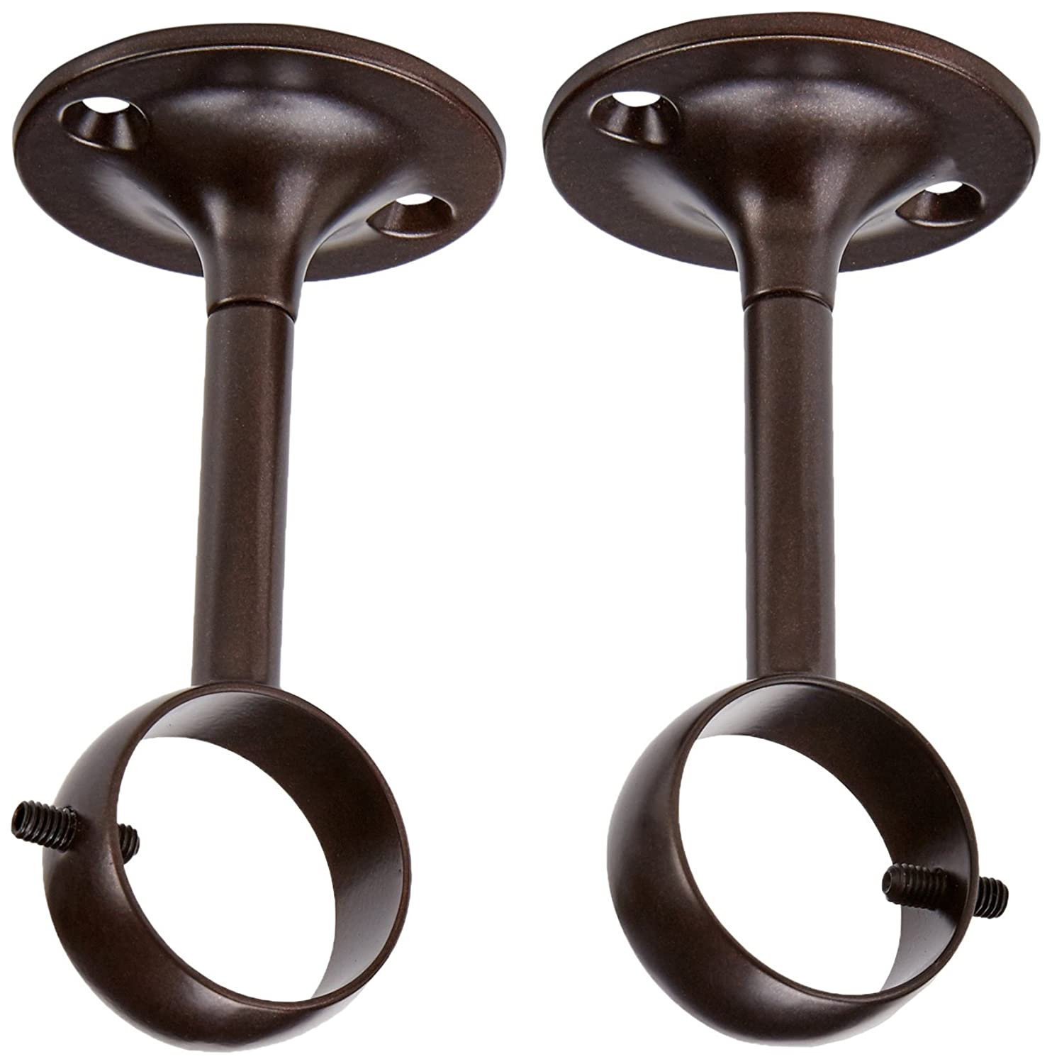 AmazonBasics Ceiling-Mount Bracket, Set of 2, Bronze