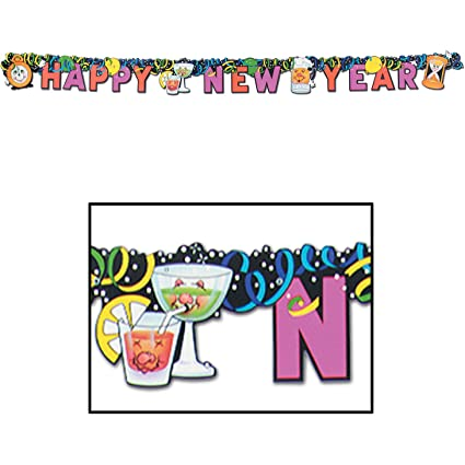 happy new year streamer party accessory 1 count 1pkg