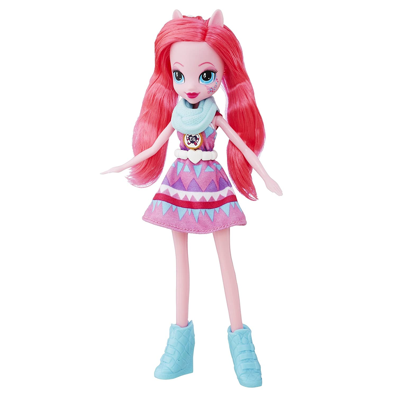 My Little Pony Equestria Girls Legend Of Everfree Pinkie Luggage Tag Pie Doll Toys Games