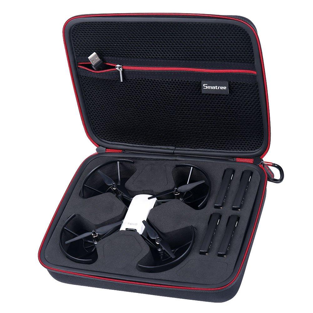 Smatree Carry Case for DJI Tello Drone/4 Tello Flight Batteries