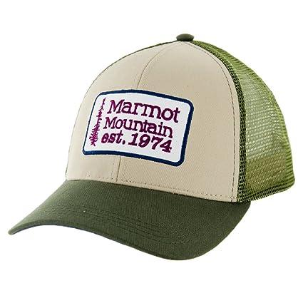 Amazon.com  New Marmot Retro Trucker Cap Canvas Hat  Sports   Outdoors b67f7aa8041