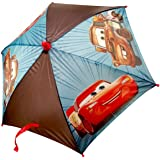 Disney Little Boys Cars Lightning McQueen & Mater Umbrella, Multi-Color, One Size