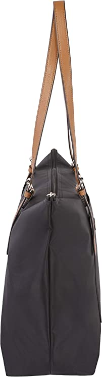 One Size Simon Chang 2 in 1 Tote /& Crossbody That converts to a Pouch Black