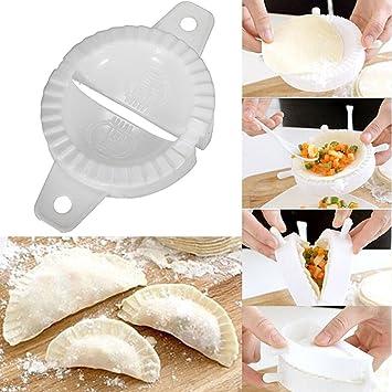 Amazon.com: Molde de plástico Euone Dumpling, limpiador, 3 ...