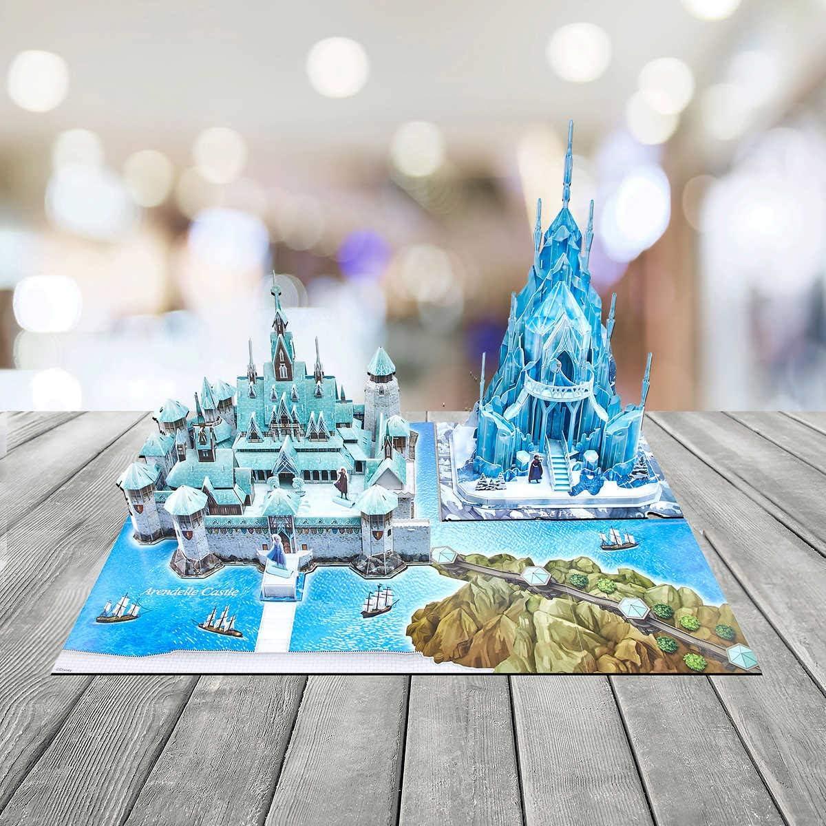 neuf emballé Disney Frozen 2-Elsa Anna 3D Palace Puzzle-Castle Puzzle Playset