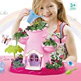 Toys Bhoomi Happy Garden Playset Toy, DIY Assembly Outdoor Garden Toys for Kids, Grow Your Own Garden, Magical Garden Growing Kit with Grow Soil, Gift for Girls & Boys