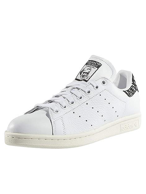 adidas Stan Smith W BZ0568, Zapatillas de Deporte para Mujer, Blanco (Ftwblaftwblanegbas), 36 EU: Amazon.es: Zapatos y complementos