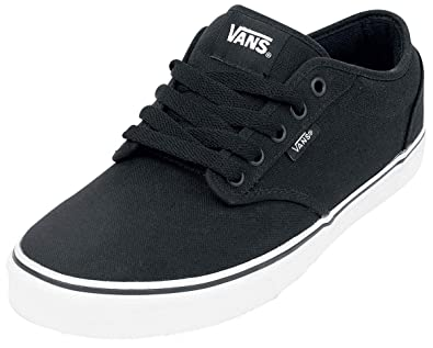 Vans Adults  Atwood Canvas Sneakers Black  Amazon.co.uk  Shoes   Bags 2d381e134