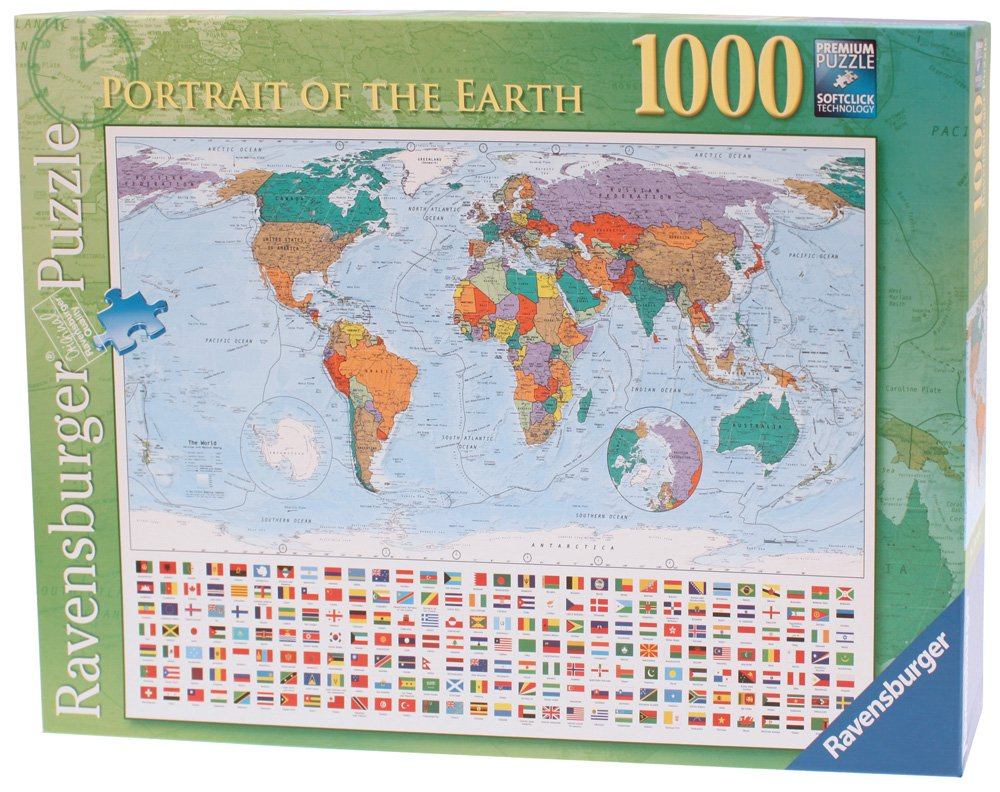 Amazoncom Portrait of The Earth Jigsaw Puzzle 1000Piece Toys