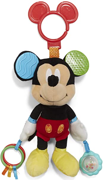 d89d43571 Amazon.com : Disney Baby Mickey Mouse On the Go Pull Down Activity ...