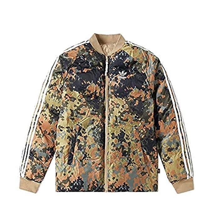 cheap for discount cfb6e df4f7 Adidas Originals x Pharrell Williams SST Winter Chaqueta Hombre Verde, XS   Amazon.es