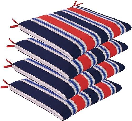 Comfort Classics Inc. Set of 4 Outdoor Seat Cushions 20″ x 19″ x 2″ Review