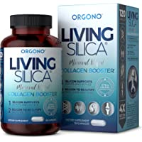 Living Silica Collagen Booster Capsules | Ultra High Absorption | Supports Healthy Collagen and Elastin Production for…