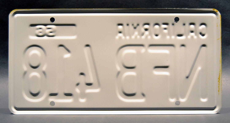 Celebrity Machines Psycho Nfb 418 Metallkennzeichen Auto
