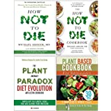 How Not To Die Cookbook Michael Greger, Plant Anomaly Paradox Diet Evolution, Plant Based Cookbook For Beginners 4 Books…