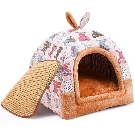 C_-1X Caseta Para Perros, Casa Para Mascotas, Yurta, Invierno, Perro