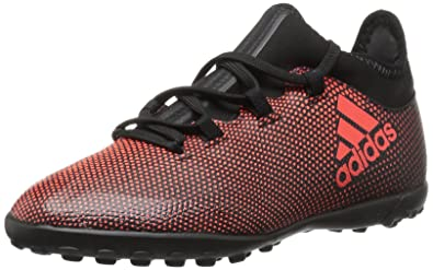 online retailer 2a568 672ed adidas Boys X Tango 17.3 TF J Soccer Shoe Black REDSolar Orange,