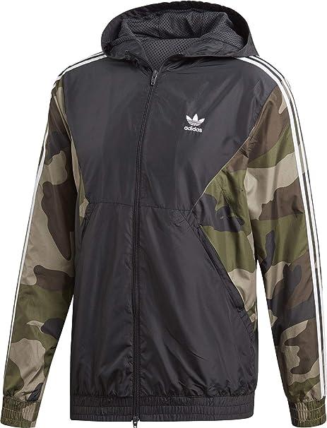 Adidas Originals Camo WB Jacket utility black