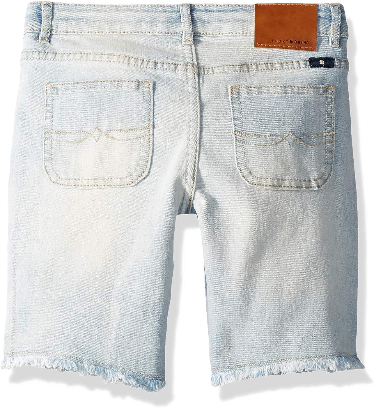 Lucky Brand Big Girls Denim Bermuda Shorts