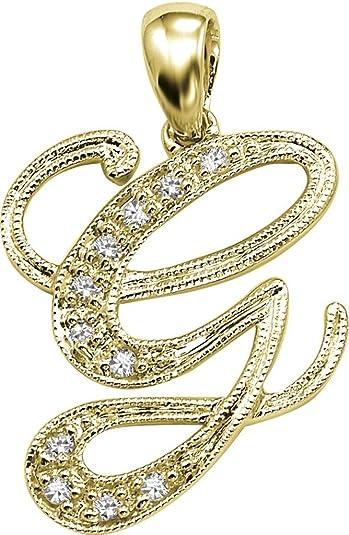 Buy Kiara Women's Silver 'G' Alphabet Design American