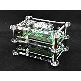 1x plaque intermédiaire pour Raspberry Pi 2, Raspberry Pi B +, B Raspberry Pi, Raspberry Pi A +, la plaque d'empilage pour enceinte Modèle G-RP-B + C, Vullers Tech®