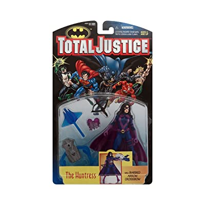 Total Justice Huntress Action Figure: Toys & Games