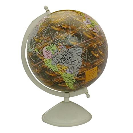 Globes For Sale >> Amazon Com Craftstribe Desktop Rotating Globe World Earth Geography