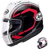 Arai Statement Corsair-X Street Motorcycle Helmet - Black / Medium