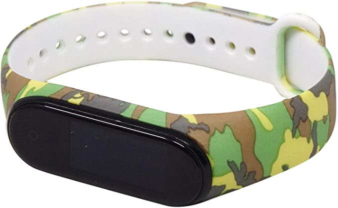 Camouflage - Pulsera de Silicona Militar para Xiaomi Mi Band 4 y 3 ...