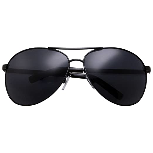 e2a6c88dac grinderPUNCH - Big XL Wide Frame Extra Large Aviator Sunglasses Oversized  148mm Black