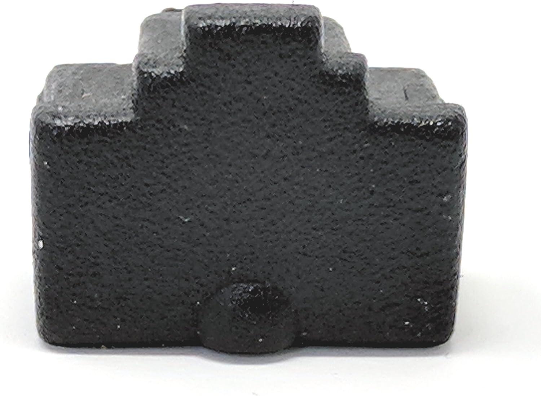 10Pcs Ethernet Hub Port RJ11 Anti Dust Cover Cap Protector Black Nice SL