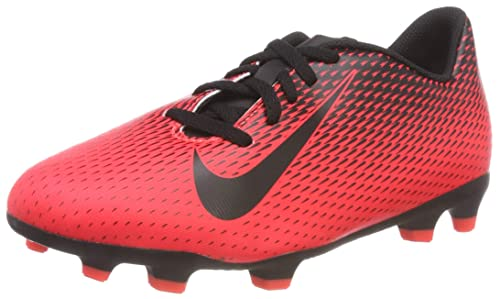 Nike JR Bravata II FG, Zapatillas de Fútbol Unisex Niños, Rojo (Bright Crimson/Black 601), 38 EU: Amazon.es: Zapatos y complementos