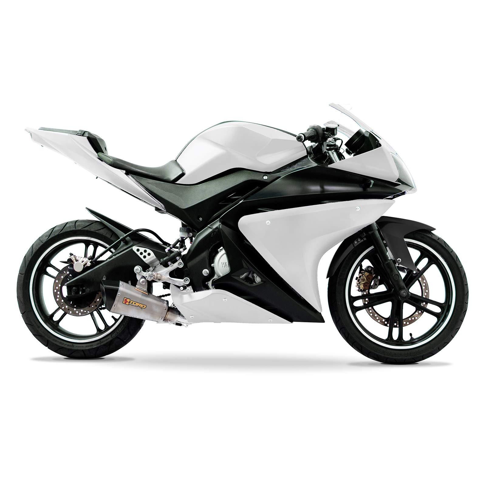 Yamaha YZF R 125 GP Carbon Exhaust 08//13 2012 UK Stock