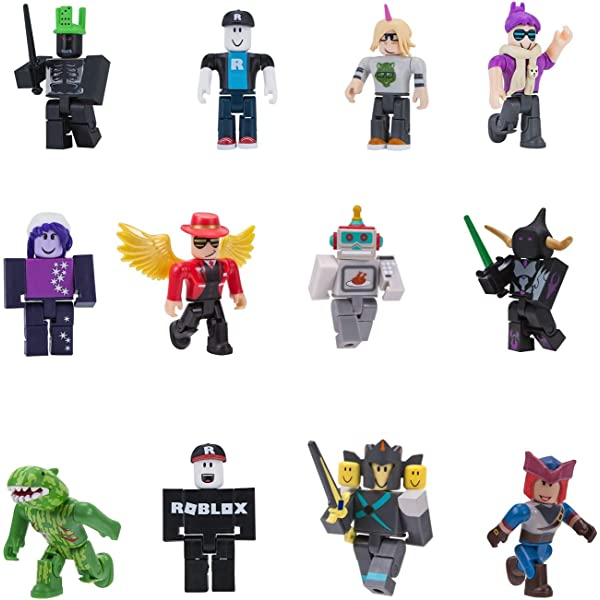 Roblox Characters Girl And Boy Roblox Figure Character Set Figurines Toy For Boy Girl Builderman Noob Serie 1 2
