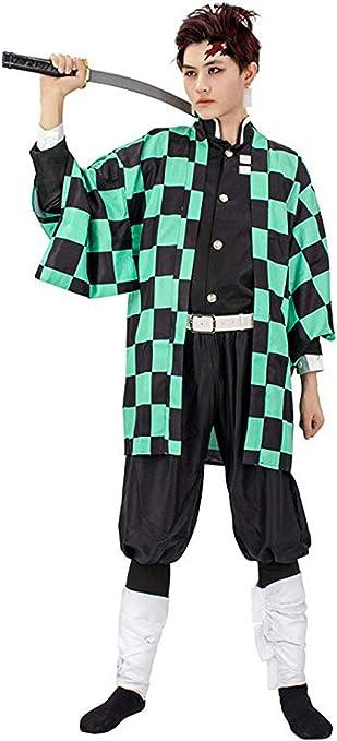 Talla CoolChange Kimono de Demon Slayer M Kimetsu no Yaiba de Tanjiro Kamado