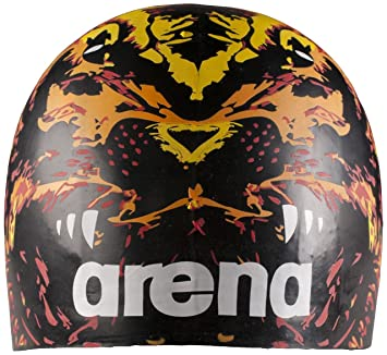 Arena Poolish Moulded Cap - Black Lion  Amazon.co.uk  Sports   Outdoors bf86816a59df