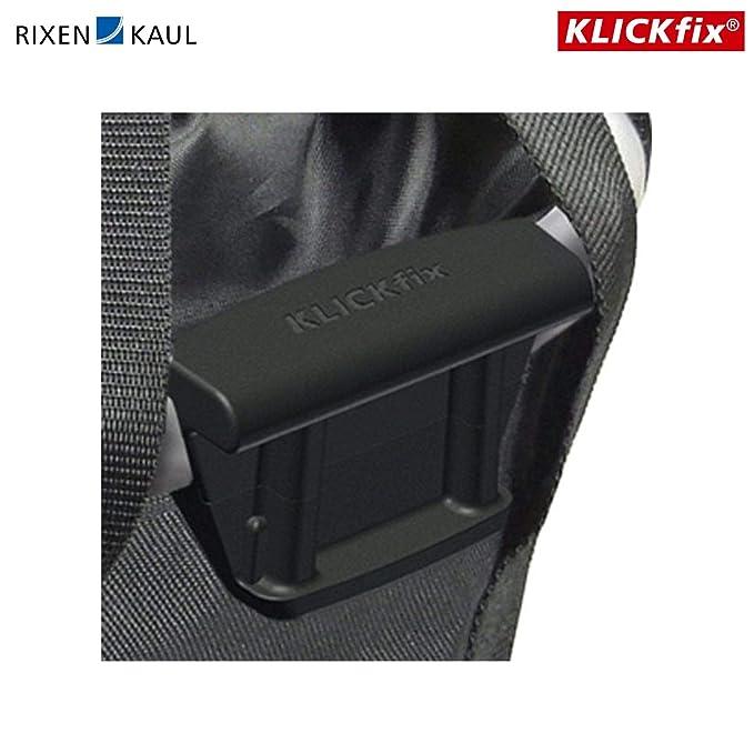Equipement et accessoires # Klickfix Reisenthel Vélo Sacoche de Guidon Panier Vélo 15 Litre 01 Noir