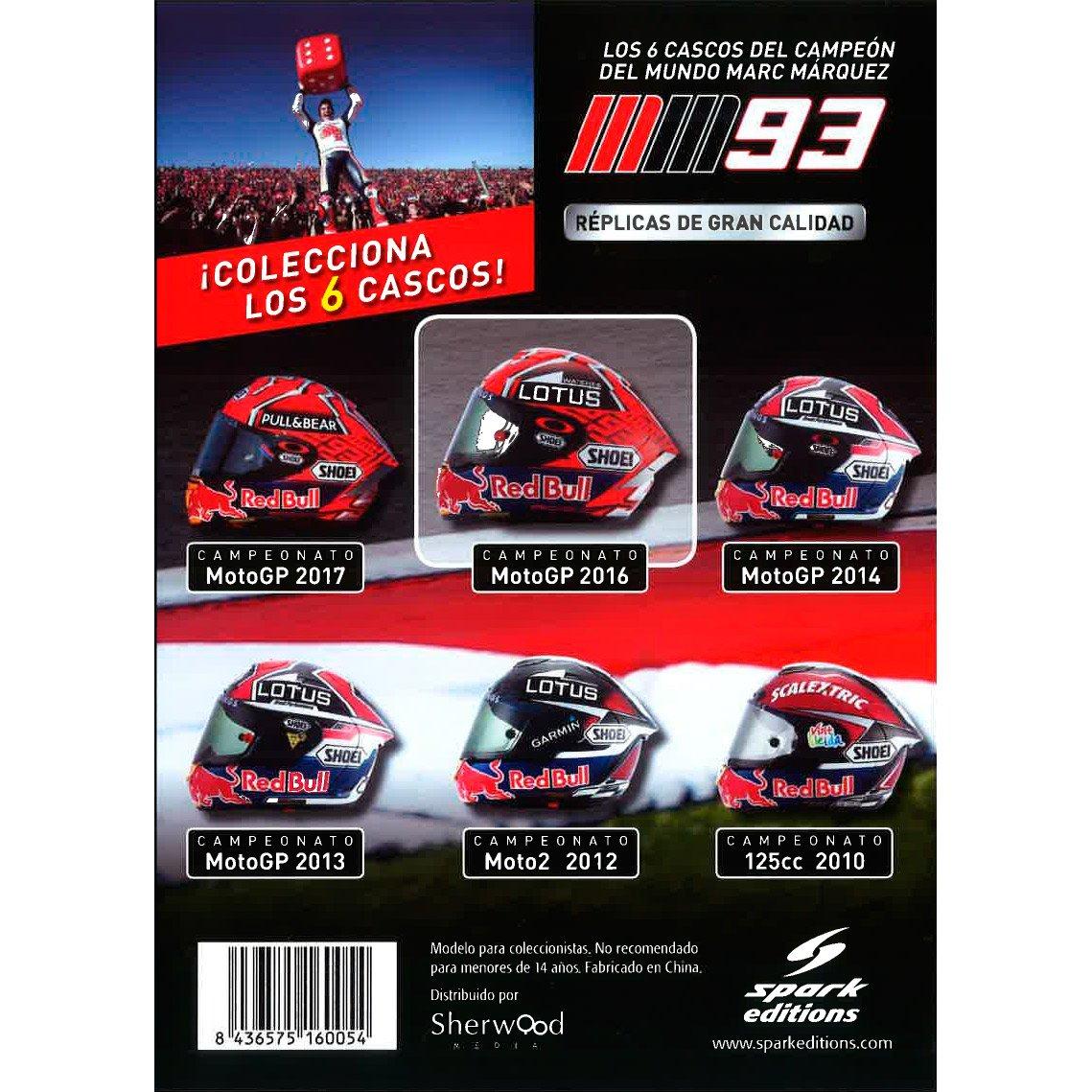 Spark Editions - Casco De Marc Márquez - Campeón Del Mundo De MotoGP (2016): Amazon.es: Videojuegos