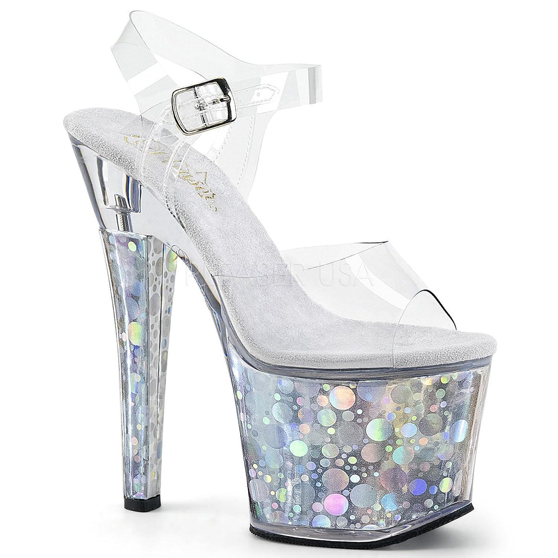PLEASER womens RADIANT-708BHG/C/S Sandals B074G4N1B6 10 B(M) US