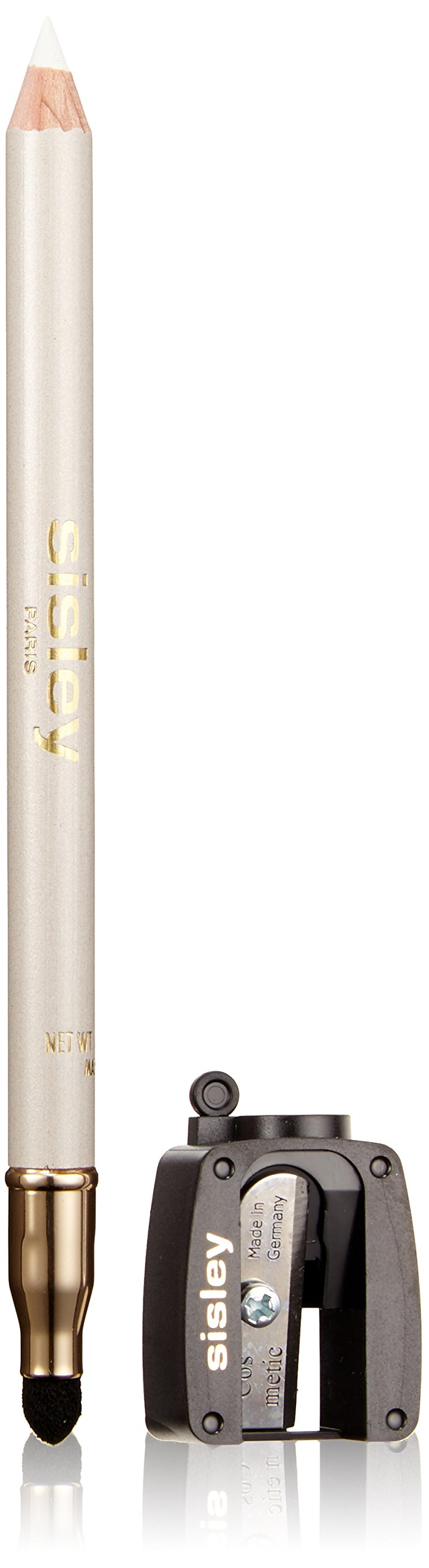 Sisley Phyto Khol Perfect Eyeliner with Blender and Sharpener for Women, 7 Snow, 0.05 Ounce