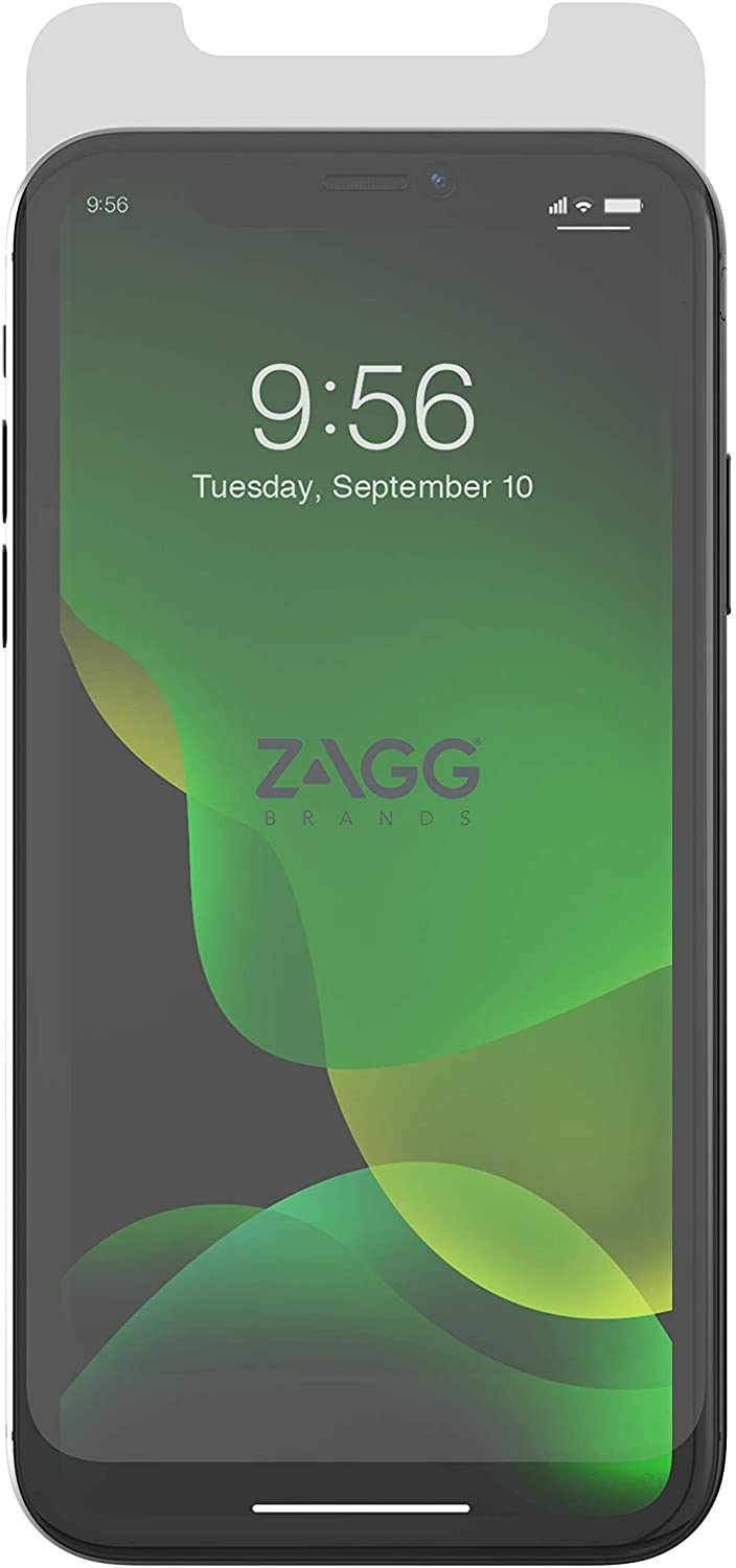 ZAGG InvisibleShield Glass+ Screen Protector – High-Definition Tempered Glass for Apple iPhone Xs MAX – Impact & Scratch Protect
