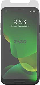 ZAGG InvisibleShield Glass+ Screen Protector – High-definition Tempered Glass Made for Apple iPhone 11 Pro Max – Impact & Scratch Protection