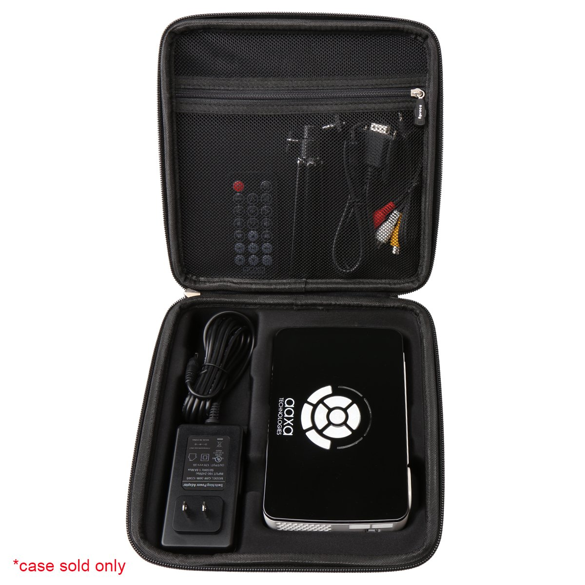 Hard Carrying Travel Case for AAXA Technologies P300 Pico Projector by Aproca