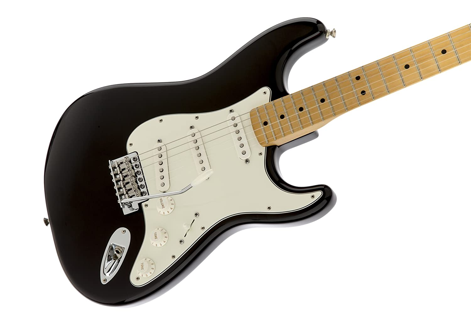 Amazon com: Fender Standard Stratocaster Electric Guitar