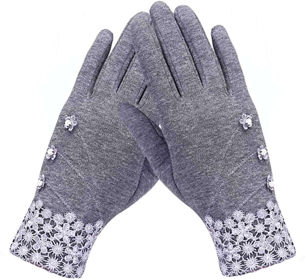 Women Winter Gloves Touch...