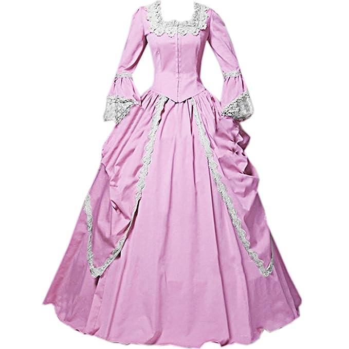 Amazon.com: Loli Miss - Vestido gótico victoriano para mujer ...