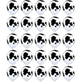 25PCS Sc0nni Funny Cow Print Balloons,For Children's Party